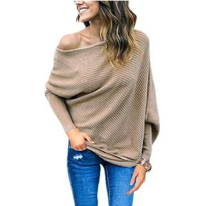 💕 Off Shoulder Batwing 🦇 Pullover Tunic Top
